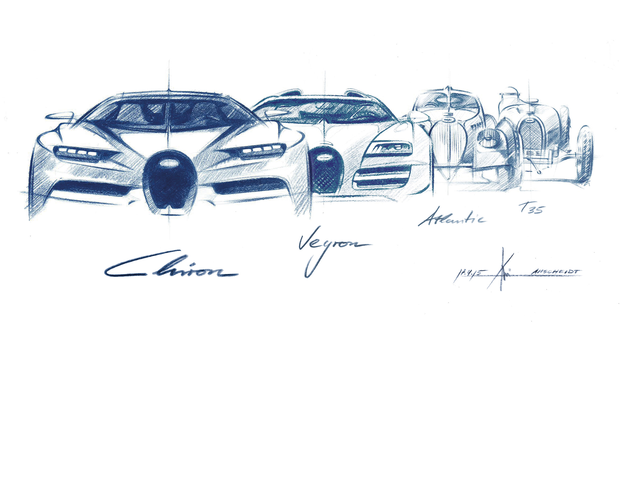 Then and Now: Phillips x Bugatti